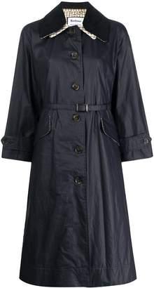 Barbour x Alexa Chung Mildred long rain jacket