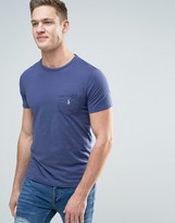 Polo Ralph Lauren Pocket T-Shirt Polo Player In Observer Blue