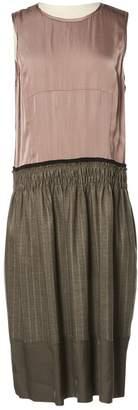 DKNY Beige Viscose Dresses