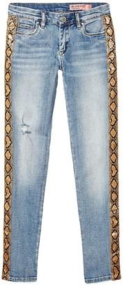 Blank NYC Kids Denim Skinny with Faux Skin Detail in Ms Brightside (Big Kids) (Ms Brightside) Girl's Jeans