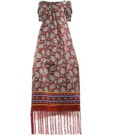 Tootal Mixed Paisley Silk Scarf