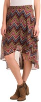 Roper Layered High-Low Skirt (For Women)
