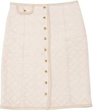 Louis Vuitton Beige Cotton Skirts