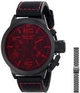 Trafalgar Ballast Men's BL-3101-0F Set Analog Display Swiss Quartz Black Watch