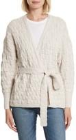 Rebecca Taylor Women's Belted Merino Wool Cardigan
