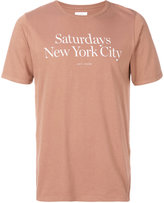 Saturdays NYC Miller standard T-shirt