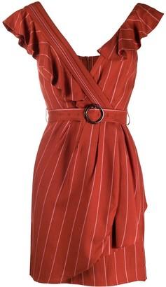 Three floor belted waist Musee dress