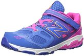 New Balance KA680 Youth Running Shoe (Little Kid/Big Kid), Blue/Pink, 12 E US Little Kid