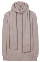 Loro Piana Dolcevita Cashmere Sweater With Scarf