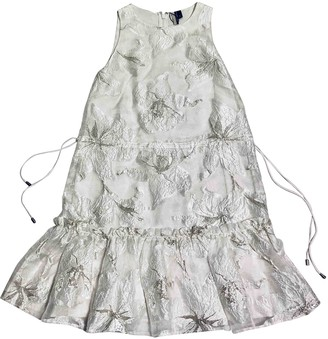 Topshop Tophop White Dress for Women
