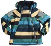 Molo Waterproof Striped Nylon Ski Jacket