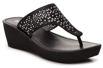 Kenneth Cole Reaction Fine Glitz Wedge Sandal