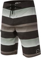 "O'Neill Men's Santa Cruz Stripe 21"" Boardshorts"