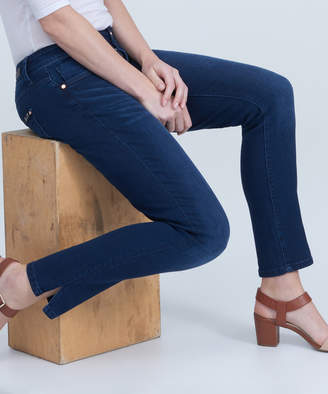 Seven7 Women's Denim Pants and Jeans CLIFTON - Clifton Dark Blue Straight-Leg Jeans - Women