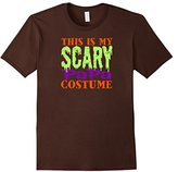 Men's This is my Scary PAPA Costume Halloween Grandpa Tshirt FUNNY Large