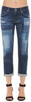 AG Jeans Ex-Boyfriend Slim Jeans in 10 Years Dimension
