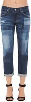 AG Jeans Ex-Boyfriend Slim Jeans in 10 Years Dimension