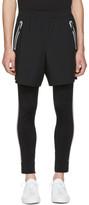 BLACKBARRETT by NEIL BARRETT Black Sport Running Shorts