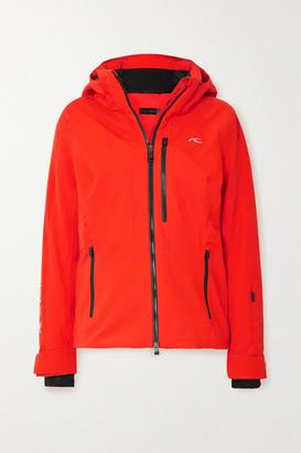 Kjus Evolve Padded Ski Jacket - Red