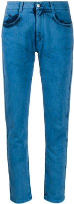 Stella McCartney Bleached Slim Jeans