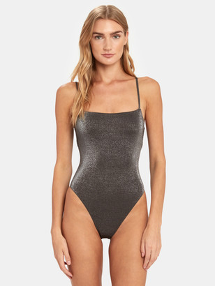 Vitamin A Jenna High Leg One-Piece Swimsuit