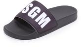 MSGM Slide Sandals