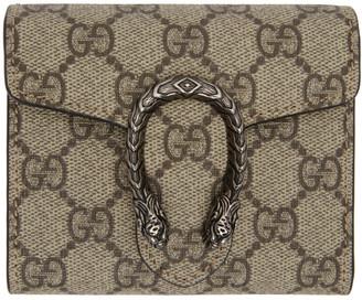 Gucci Beige Dionysus Wallet