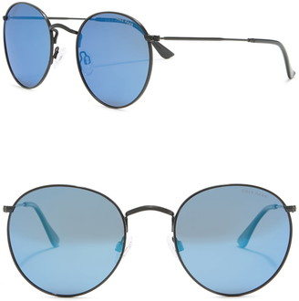 Cole Haan 53mm Metal Round Sunglasses
