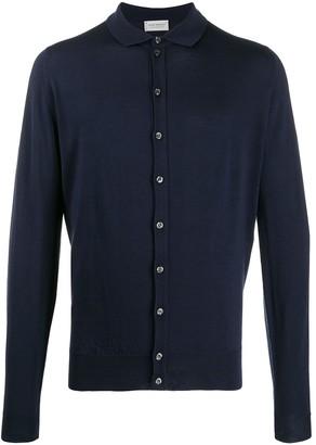 John Smedley Roston wool shirt