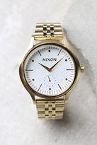 Nixon Sala Gold and White Watch