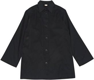 Eres Black Cotton Tops