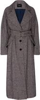 Rachel Comey Helm Houndstooth Belted Trench Coat