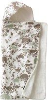 DwellStudio Dwell Studio Hooded Towel, Woodland Tumble Mocha