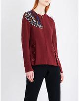 Roksanda Medori embroidered woven jacket