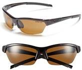 Smith Optics Women's 'Approach' 62Mm Interchangeable Lens Sunglasses - Black/ Polar Grey Green/ Clear