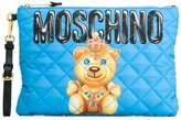 Moschino crowned bear clutch - women - Polyester - One Size