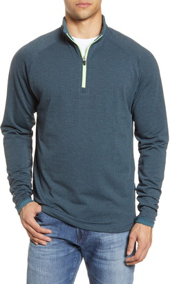 Devereux Cholla Textured Quarter Zip Pullover