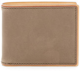 J.fold J-Fold Two-Tone Slimfold Leather Wallet
