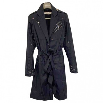 Christian Dior Blue Trench Coat for Women Vintage