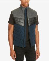 Kenneth Cole Reaction Men's Colorblocked Puffer Vest