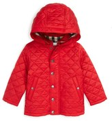 Burberry 'Jerry' Quilted Jacket (Toddler Boys)