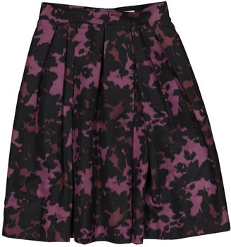 Burberry Purple Silk Skirts