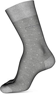 HUGO BOSS Peter Cotton-Blend Dot Crew Socks