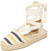 Soludos Striped Platform Gladiator Sandals