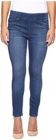 Liverpool Petite Sienna Pull-On Ankle Jeans in Lanier Mid Indigo