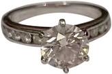 Tiffany & Co. & Co Soleste Silver Platinum Rings