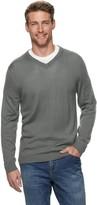 Apt. 9 Men's Merino Wool-Blend V-neck Sweater