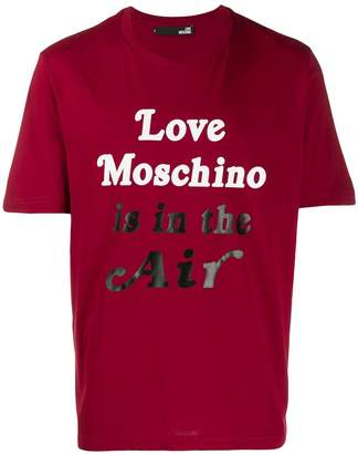 Love Moschino 'Love Moschino is in the air' T-shirt