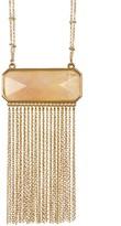 Catherine Catherine Malandrino Semi-Precious Stone Fringe Necklace