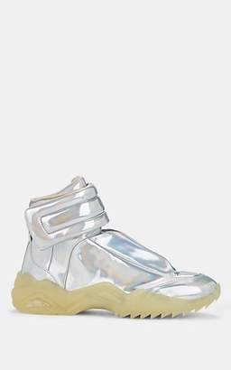 Maison Margiela Men's Future PVC Sneakers - Silver